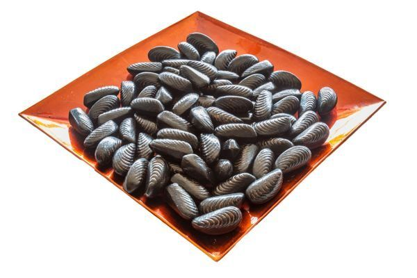 Mejillones de chocolate