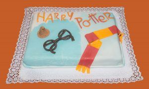 Tarta personalizada Harry Potter