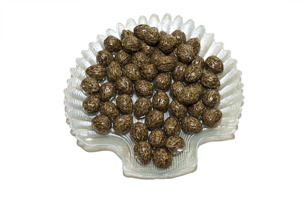 nueces de chocolate